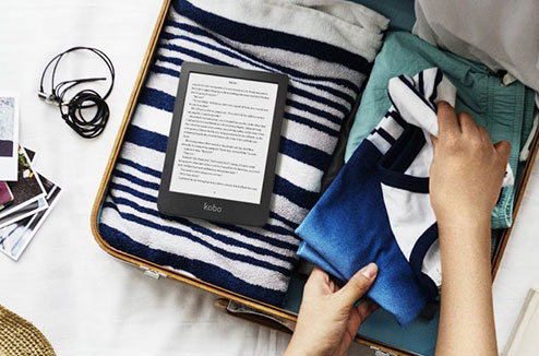 Liseuse ebook Kobo Clara HD pour lire des livres numériques