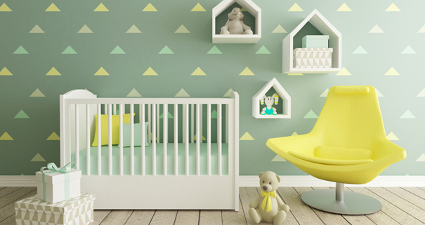 conseils pour am nager la chambre de b b darty vous. Black Bedroom Furniture Sets. Home Design Ideas