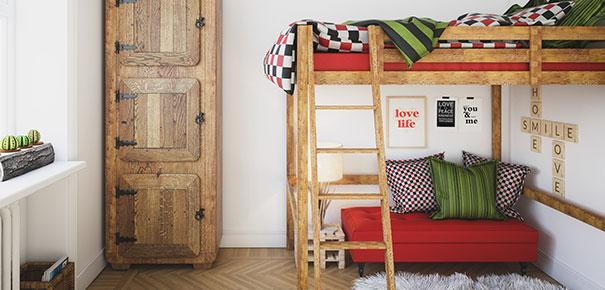 3 conseils pour am nager la chambre de son ado darty vous. Black Bedroom Furniture Sets. Home Design Ideas