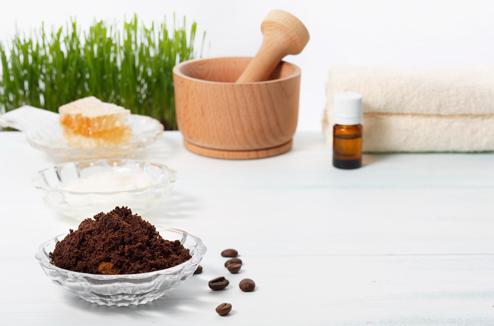 Les utilisations du marc de café en beauté