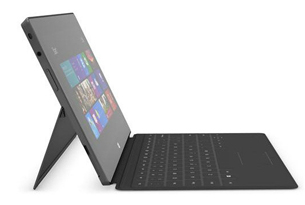Design de la Microsoft Surface Windows RT