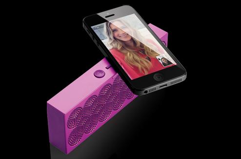 Écouter la musique de son smartphone sur l'enceinte Mini Jambox