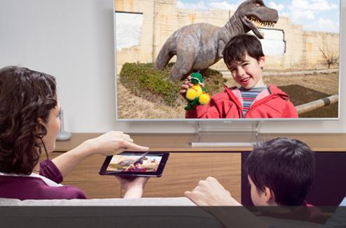 Afficher l'écran du smartphone sur la TV