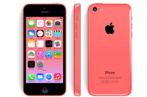 iPhone 5C : design rouge
