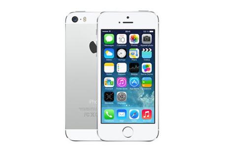 iPhone 5S : design blanc