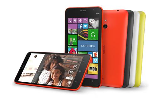 Windows Phone 8.1 : Nokia Lumia 1320