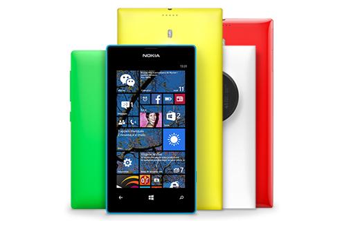 Windows Phone 8.1 : Nokia Lumia gamme