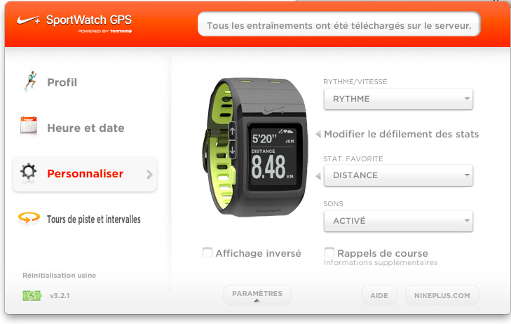 j 39 ai test la montre nike sportwatch gps tomtom darty vous. Black Bedroom Furniture Sets. Home Design Ideas