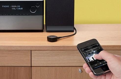 La mmusique du smartphone sur la chaîne Hi-Fi