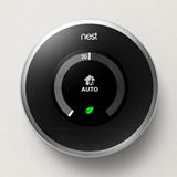 Nest learning thermostat intelligent pour des conomies - Thermostat connecte nest ...