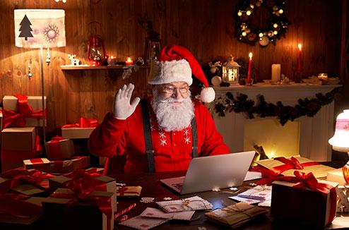 Fêter Noël à distance