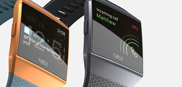 Notifications sur la Fitbit Ionic