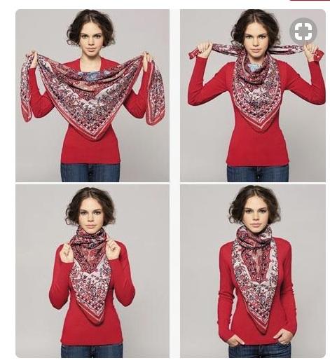 3  Pour mettre en valeur son foulard en soie ou son pashmina 348b2541dae
