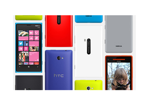 Smartphones Windows Phone 8