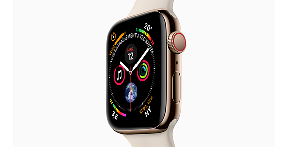 Nouvelle Apple Watch Series 4