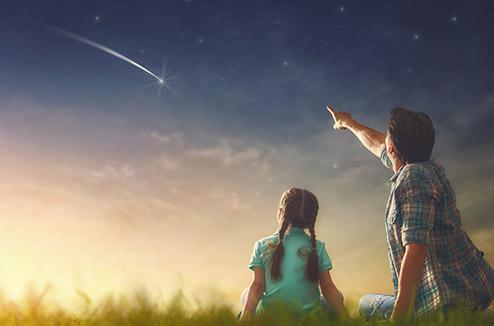 Observer le ciel en famille