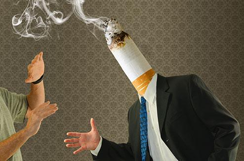 L'odeur de cigarette imprègne tout