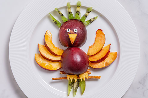 Oiseau de fruits