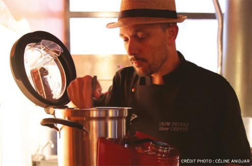 Olivier Chaput et son Cook Processor KitchenAid