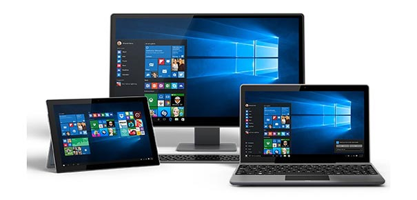 Ordinateurs avec Windows 10 Home