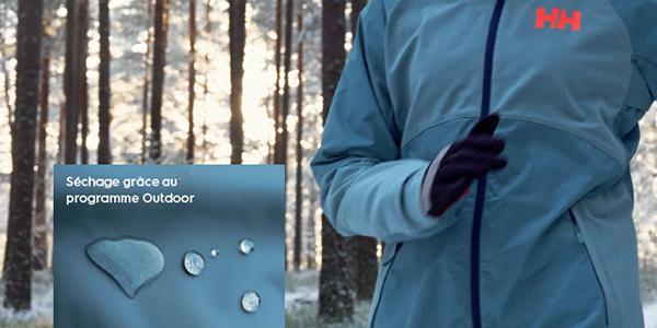Le programme Outdoor des sèche-linge Perfect care restaure et conserve  l imperméabilité de 3bafd4e8791