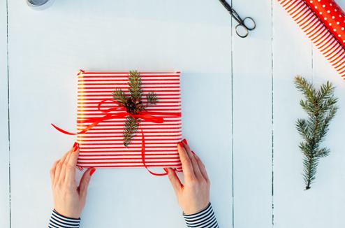 Les idées pour des beaux paquets cadeaux faits maison