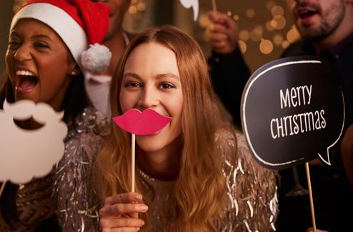 De jolies lèvres pour les fêtes