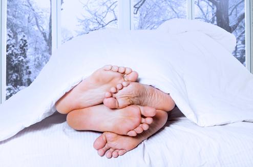 Les épreuves du couple en hiver