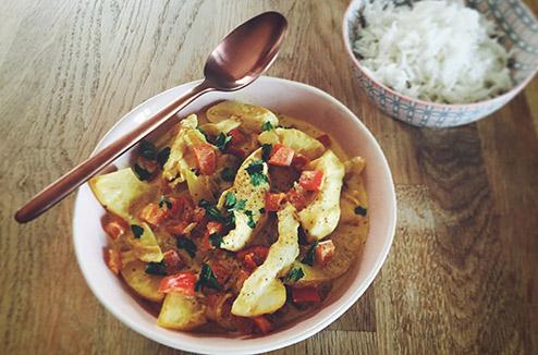 Poulet au curry cuit sous vide darty vous - Plat cuisine sous vide ...