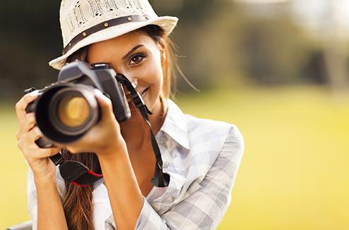 Prendre des photos avec un reflex