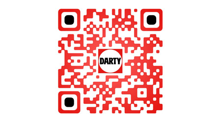 QR code de l'application iPhone Darty