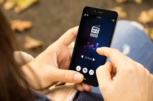 La radio sur smartphone