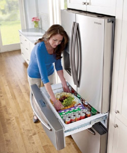 le frigo multi portes grand et sur quip darty vous. Black Bedroom Furniture Sets. Home Design Ideas