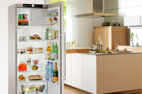 Agencement réfrigérateur congélateur