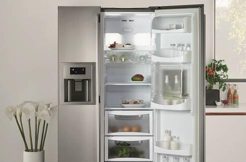 Réfrigérateur américain installation