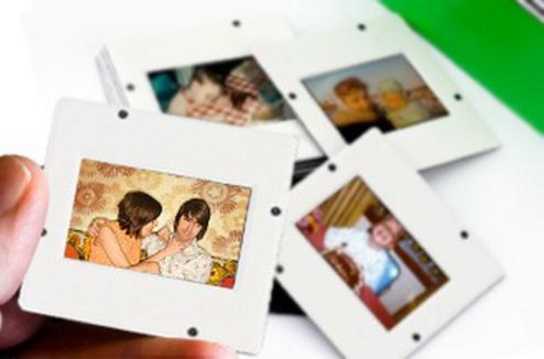 Diapos ; souvenirs de famille