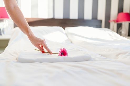 Les astuces pour repasser son linge de lit