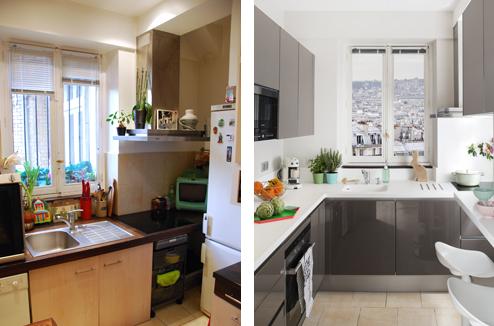 Avant-après : comment aménager une petite cuisine ? - Darty & Vous