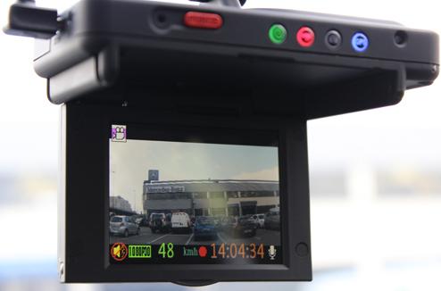 Road Eyes : caméra embarquée pour voiture