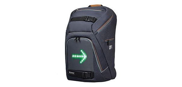 go led un sac dos avec clignotant pour v lo darty vous. Black Bedroom Furniture Sets. Home Design Ideas