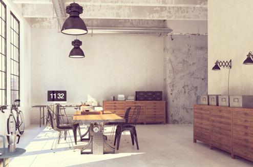 D co des id es pour adopter le style scandinave dans mon for Ensemble salon salle a manger industriel