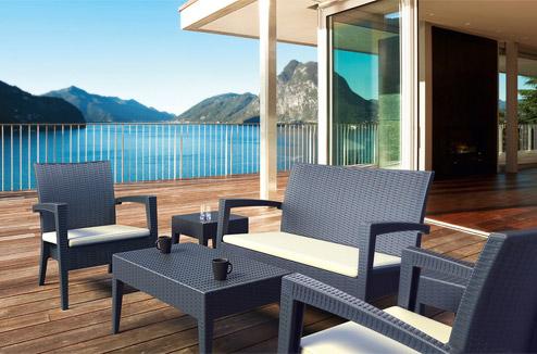 Am nager et d corer terrasse balcon et jardin pour for Petit salon de jardin balcon