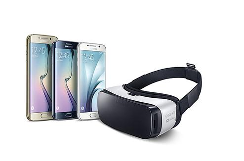 Casque de réalité virtuelle Samsung Galaxy Gear VR avec smartphone Samsung