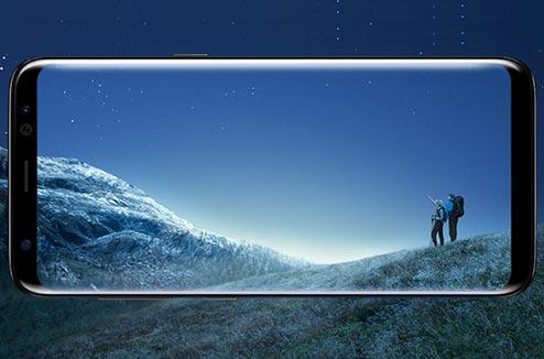 samsung galaxy s8 le smartphone l cran borderless darty vous. Black Bedroom Furniture Sets. Home Design Ideas