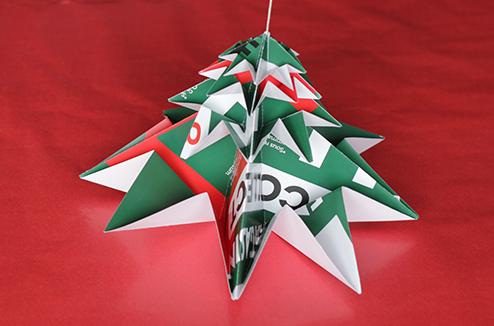 Diy sapin noel origami