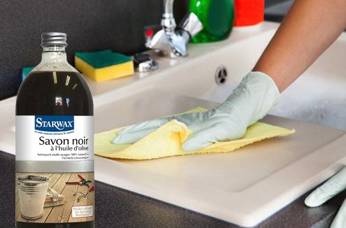 Le savon noir ménager 100% naturel