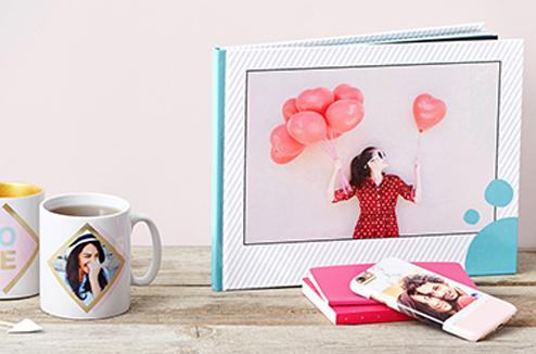 Personnalisez vos cadeaux avec vos photos