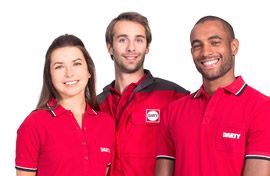 Service equipe Darty