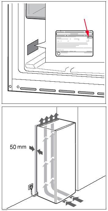 Nos conseils d 39 installation pour votre cong lateur darty vous - Classe climatique d un congelateur ...