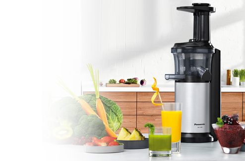Slow Juicer Panasonic Test : Extracteur de jus panasonic test Ustensiles de cuisine